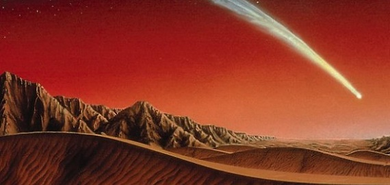 Did life come from Mars?